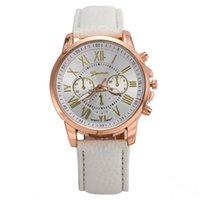 Nueva correa de cuero reloj PU reloj de pulsera para mujer regalo de Navidad reloj de cuarzo colorfull para elegir el mejor precio reloj 0013