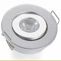 1W 3W Mini LED Downlight weiße runde Deckenstrahler 110V 220V LED Panel Leuchte Einbau Aluminium Lampe Warmweiß