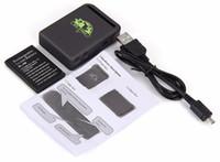 TK102B Mini GSM GPS GPS GPS Quadband Tracker Coche Localizador de GPS Alarma de exceso de velocidad Rastreador de ubicación en tiempo real para dispositivos de vehículos Accesorios GPS