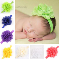 Hot Childrens Accessories Hair Flowers Lace Headbands Baby H...