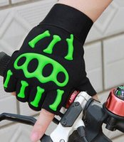 Outdoor Cycling Half Finger Gloves Military Tactical Gloves ...