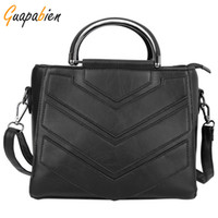 Wholesale- Guapabien Fashion 2016 Women Leather Handbags Bra...