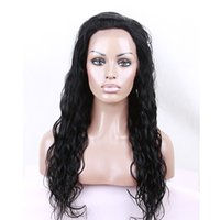 Human Hair Wigs Lace Front Wigs Full Lace Wigs Water Wave 8-...