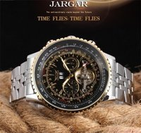 JARAGAR Automatic Self- winding Mechanical Wrist watches Tour...