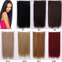 120g 1pcs synthetic clip in 5clips high temprature fiber. cli...
