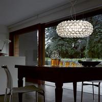 Nytt sovrum Foscarini Caboche Boll Hänglampa Ljus Ljus Dia35 / 50/65cm AC90-260V Modern ljuskrona för vardagsrum Bedroom Hotel