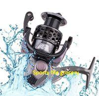 Nouveau HK1000 ~ 7500 Navire de pêche en mer Full Metal 18BB Moulinets de pêche anti-eau Roues tournantes