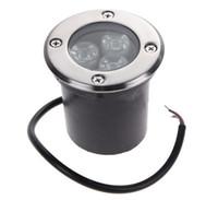 AC85-265V 3 * 3W 칩 LED 지하 빛 IP67 최근 9W 층 야외 램프 매장