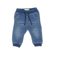 Baby Jeans Boys Long Pants Denim Solid American Style Fashio...