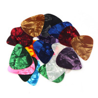 20 pcs Celluloid Guitar Picks Thin Medium Heavy Palhetas de ...