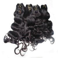 Moda Rainha volume do cabelo 3pcs / lot 50g / piece onda do corpo humano indiano Tecelagem do cabelo, com entrega rápida