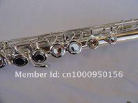 Suzuki Marka Profesyonel Flüt 16 Delik Kapalı C Tuşu Flüt E Tuşu gümüşlenme Çal Müzik Aleti