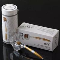 Ролик кожи ZGTS derma игл профессионала 192 titanium микро -