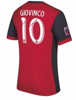 2018 Toronto FC home Soccer Jersey 17 18 #10 GIOVINCO Red So...