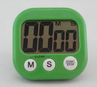 Yeni Gelmesi Büyük LCD Dijital Mutfak Pişirme Zamanlayıcı Count-Aşağı Yukarı Saat Loud Alarm Manyetik