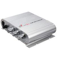 Freeshipping Mini Hi-Fi CD MP3 Radio Auto Auto Motorrad Heim Audio Stereo Bass Lautsprecher Verstärker Boostrer Player 12 V 200 Watt