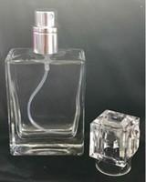 200 stücke 30ml Glas Parfüm Flaschen Tragbare transparente Spray Bottls Nachfüllbarer Zerstäuber