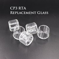 Best Quality CP3 RTA 24mm Clear Pyrex Replacement Glass Tube...