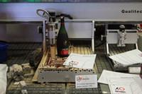mini 3040 800 watt 3axis cnc-schnitzmaschine wassergekühltes holz metall gravur fräsmaschine router