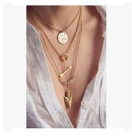 2pcs lot Summer Hot Fashion Pendant Necklaces Jewelry Gold P...