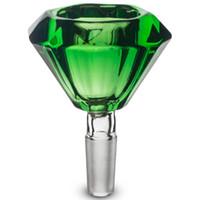 10mm 유리 다이아몬드 그릇 허브 홀더 혼합 색상 5 무료 화면 무료 배송