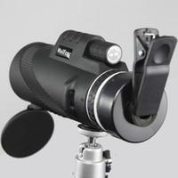 عالية الجودة 40x60 مناظير قوية التكبير مجهر مجال نظارات كبيرة التلسكوبات المحمولة hd الصيد المهنية