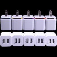5V 2. 1A&1. 0A Double USB AC adapter home travel wall charger ...