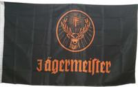 Bandera de Deer Head para banderas y pancartas decorativas Jagermeister de 3x5 pies