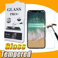 9H Dowód eksplozji Premium Shield Clear 2.5D Szkło Hartowane Screen Screen Screen Protector Guard Film dla iPhone 13 Pro Max 12 Mini 11 XS XR X 8 7 6 6S PLUS SE z pakietem