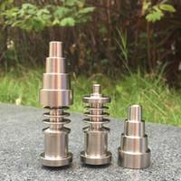 Универсальные Nowness Titanium Nails 10 мм 14 мм 18 мм Соединение для мужчин и женщин Неуместный Nail GR2 Качество Костюм для всех стеклянных бонгов