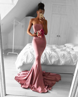 Custom Made strapless formal evening dress simple prom dress...