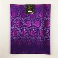 African Sego Headtie High Quality, 2pcs / Bag Headscarf, 0752 100% African Sego Headtie Wrapper para la boda