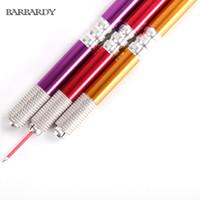 Microblading sourcils haute qualité jetable stérile maquillage permanent en acier inoxydable Microblading Pen dans le tatouage des sourcils