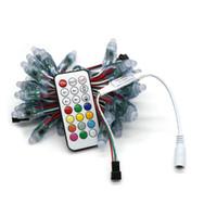 Umlight1688 متعددة الكمية dc5v WS2811 بقيادة بكسل وحدة 12 ملليمتر ip68 للماء كامل اللون rgb سلسلة عيد الميلاد الصمام الخفيفة تحكم مجانية