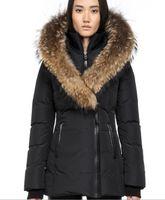 06db09853c Women s Down jacket WINTER MAC-ADA-F4-A205 Down   Parkas Brand Real Raccoon Fur  Collar White Duck Outerwear   Coats WITH FUR HOOD