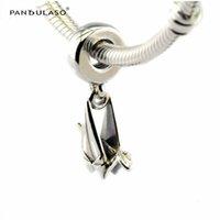 Оригами кран Серебряный мотаться бусины подходит Пандора браслет для женщины бусины DIY женщина ювелирные изделия для женщины подарок Wholeasle