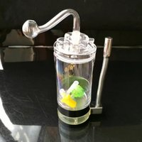 Acrylic With Alcohol Lamp Pot , Wholesale Glass Bongs Accessories, Water  Pipe Smoking, Free Shipping