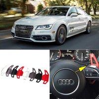 2 pcs Brand New liga de alta qualidade Add-On volante DSG Paddle Shifters extensão para Audi A7