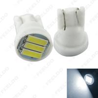 50pcs Super Blanc 1.5W T10 194 168 W5W 7014/7020 3SMD Côté Voiture Wedge Tail Turn LED Ampoule # 4184