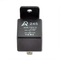 5 / 10st Bilbil Auto Relay 12V 40A SPST Premium Relay 5 Pin Crong Kit för kontrollalarm Horn strålkastare universal