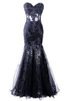 Apliques con cuentas Vestido Longo sirena vestidos de noche de alta calidad de tul celebridad vestidos de fiesta Vestido De Festa