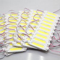 Süper Parlak COB 1W / 2W LED Modülleri 6500K Beyaz COB LED Chip Wateproof IP67 R / G / B / Sıcak Beyaz 12V Led Reklam Işık Soğuk