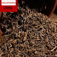 200 g reife Puer Tee Yunnan lose Puer Tee Bio Pu'er älteste Baum Gekochte Puer Natur Puerh Schwarz Puerh Tea Cake Factory Direct Sales