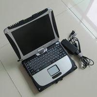 أداة لظلم 100٪ جودة عالية Toughbook CF19 CF-19 Laptop CF 19 باناسونيك رام 4G شاشة تعمل باللمس مع HDD Software MB Star C3 C4 C5 لسيارات BMW ICOM A2 التالي