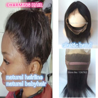 360 Lace Frontal With Baby Hair elastic band 360 Lace Fronta...