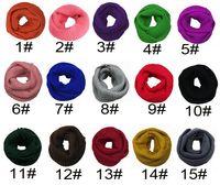 Осень зима корейская женщина вязаные шарфы шейный платок чистый цвет пуловер 20 цветов мужчины шарфы дамы 120*30 см бесплатная доставка