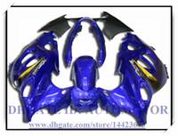 BLUE 100% nuovissimo kit carena di alta qualità adatto per Suzuki GSX600F / 750F 1997-2005 GSX 600F GSX750F 1998 1999 2000 2001 # EU892