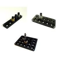 Nuovo 5/10/20 fori nero acrilico e cig atomizzatore espositore per ecig vape rda serbatoio atomizzatore meccanico mod supporto vaporizzatore