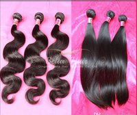 Brazilian Body Wave Virgin Remy Human Hair Weaves Unprocesse...