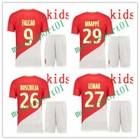 now 2017 2018 as Monaco Kid Kit Futbol Camisa Falcao Lemar T...